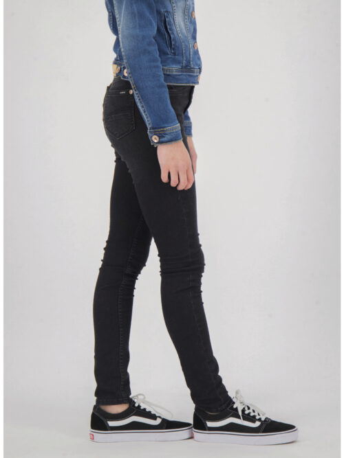 Garcia Pige Rianna Superslim Jeans Coal Denim - Rinsed