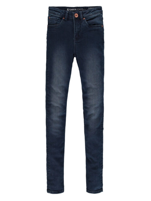 Garcia Pige Rianna Superslim Jeans Flow Denim - Dark Used