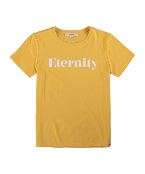 Garcia Pige T-shirt Eternity Yellow Dust
