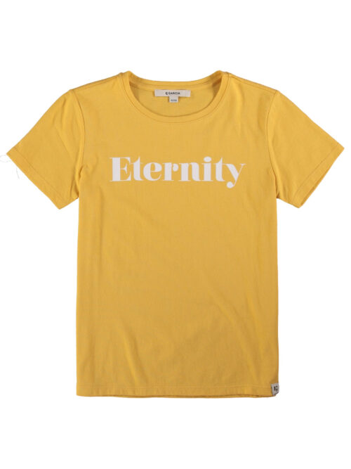 Garcia Pige T-shirt Eternity Yellow Dust