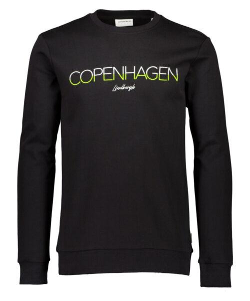 Lindbergh White Copenhagen Sweatshirt Black