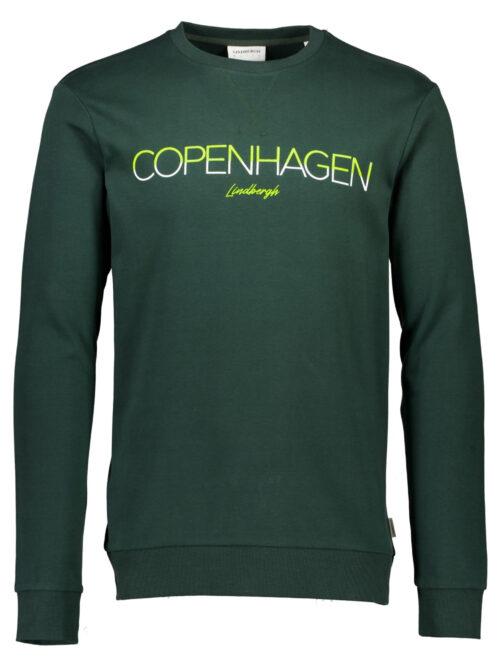 ProduktfotosLindbergh White Copenhagen Sweatshirt Green