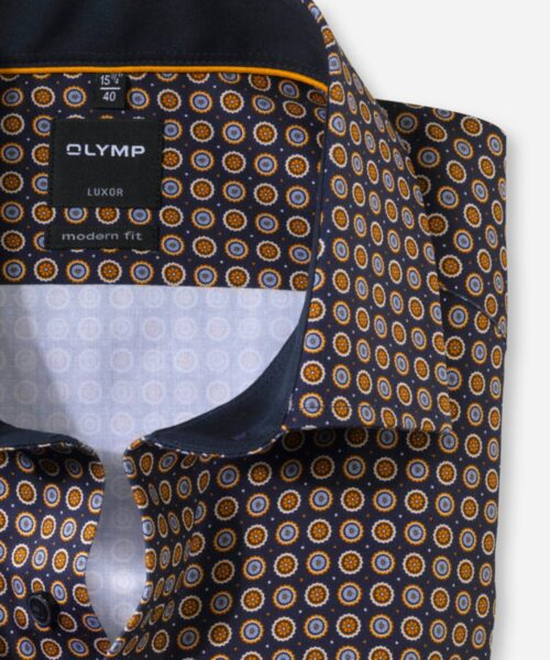 Olymp Luxor Skjorte Maize Dots