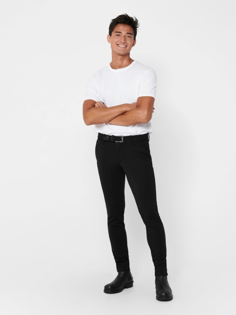 Only & Sons Mark Performance Pants Black