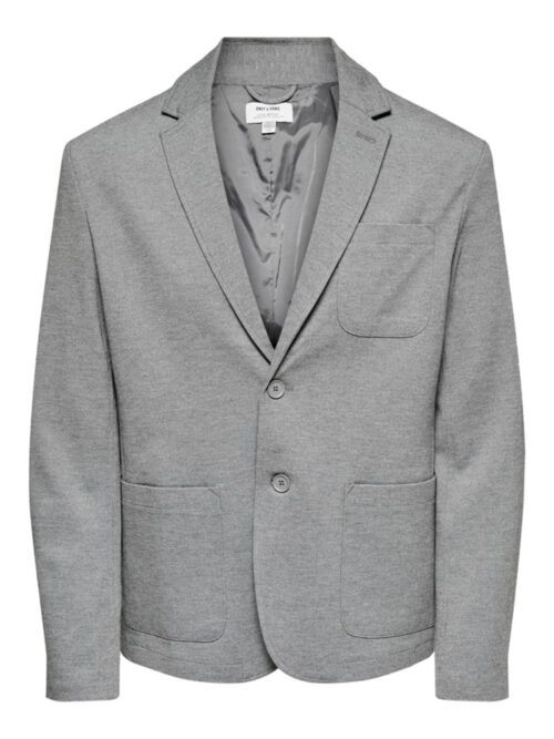 Only & Sons Mark Performance Blazer Lysegrå