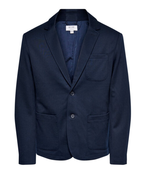 Only & Sons Mark Performance Blazer Navy