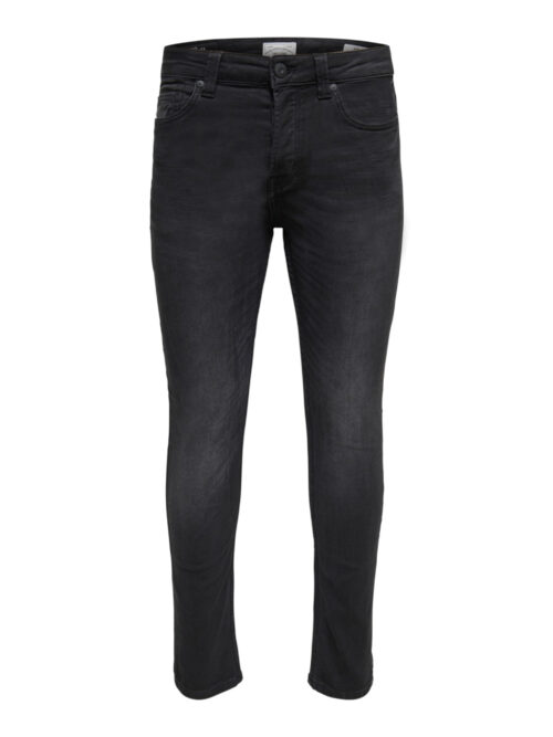 Only & Sons Onsloom Black Life Jog Slim Fit Jeans