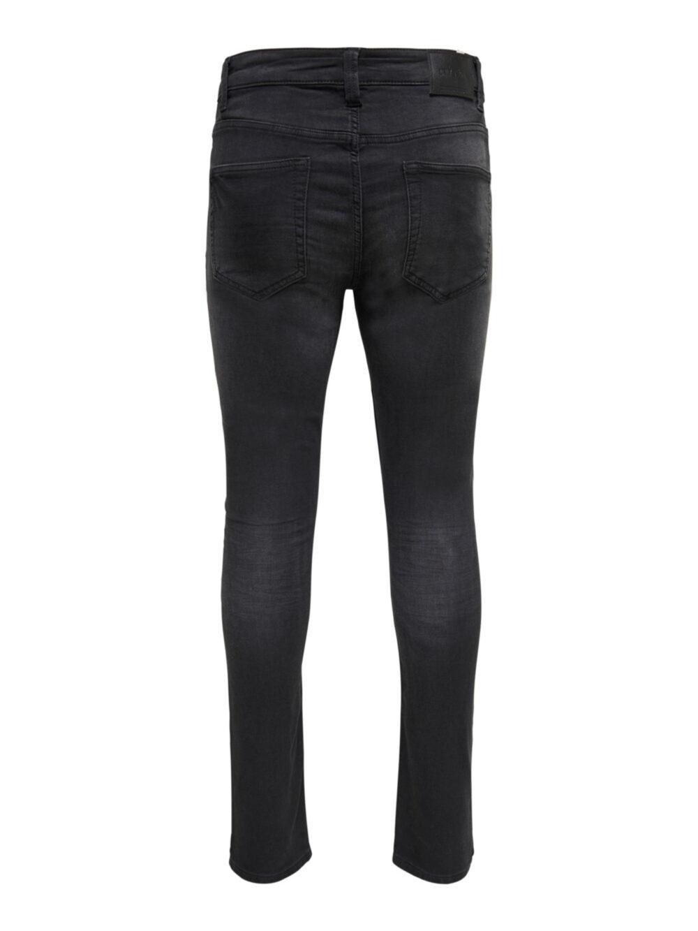 Only & Sons Onsloom Black Life Jog Slim Fit Jeans