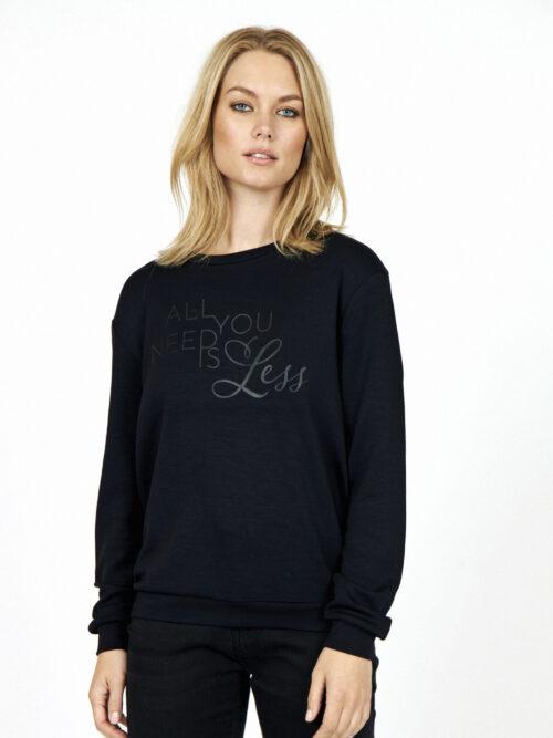 Soyaconcept Banu 29 Sweatshirt Sort