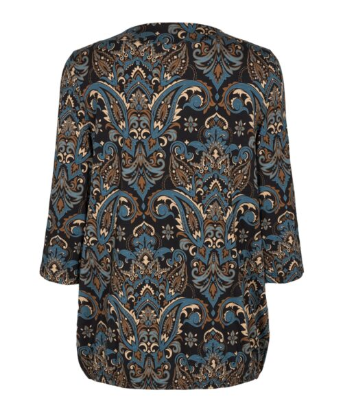 Soyaconcept Marica AOP 118 Bluse Turkis