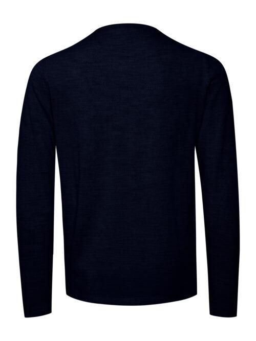 Casual Friday Kent Merino Pullover Navy