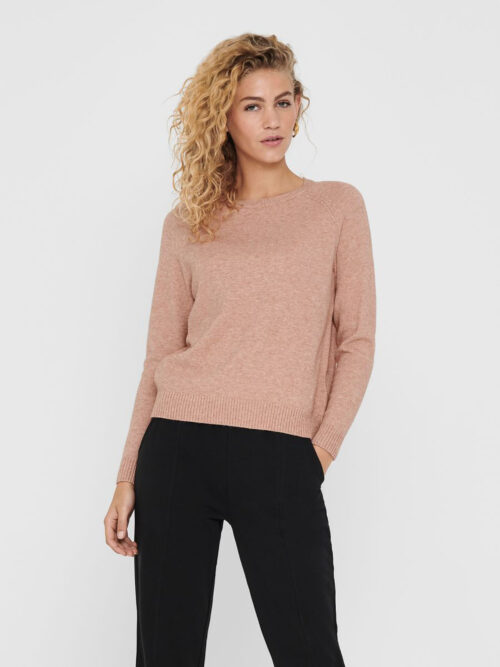 Only Lesly Kings Pullover Misty Rose