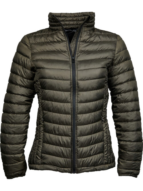 Tee Jays Womens Zepelin Jacket Dark Olive