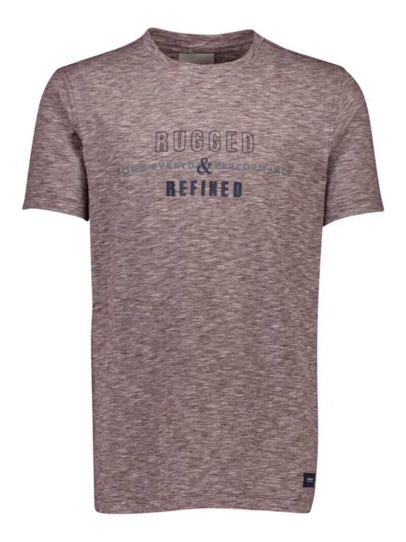 Bison T-shirt 80-400025 Bordeaux