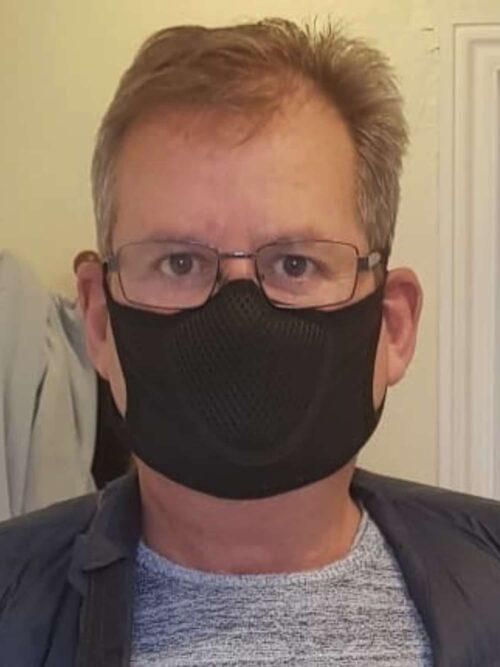 Classic Mask Mundbind Sports Edition Sort