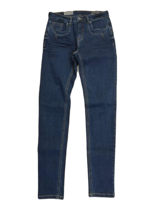 Fransa Frivover 3 Jeans Glossy Blue Denim