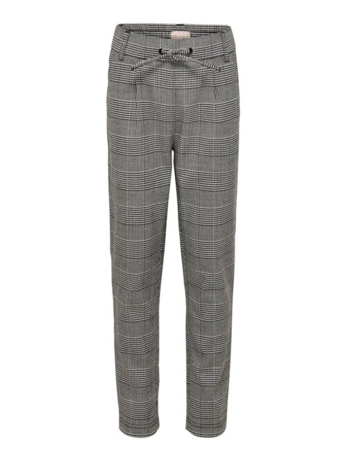 Kids Only Poptrash Soft Check Pant Medium Grey