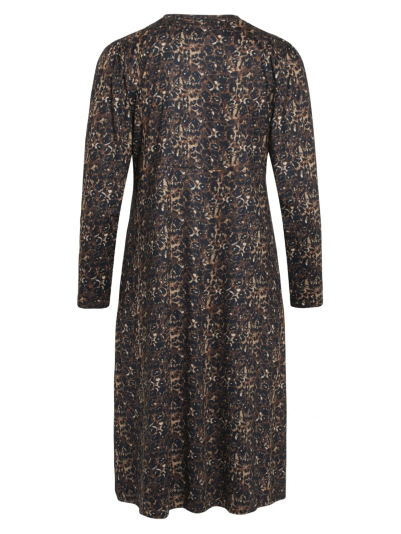 One Two Luxzuz Salome Dress Brandy