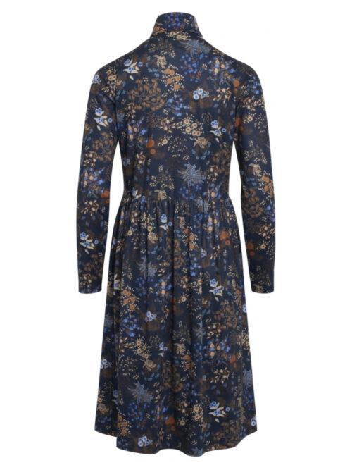 One Two Luxzuz Sebrine Dress Night Blue
