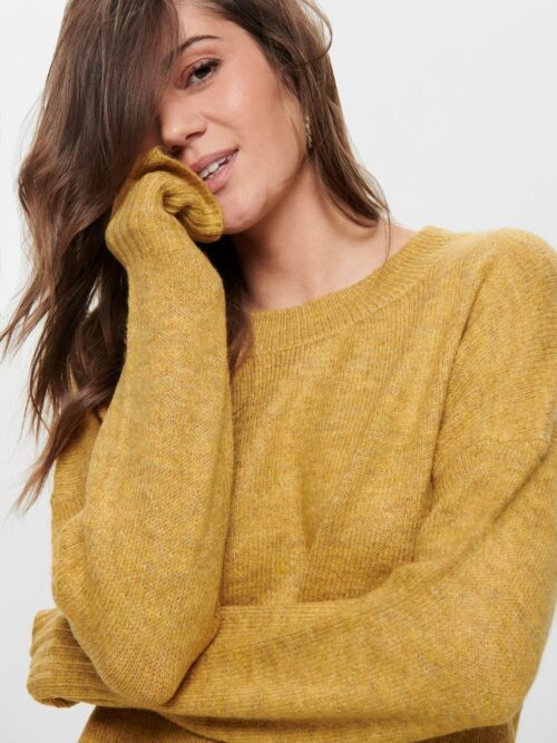 Only Nanjing Pullover Knit Golden Yellow