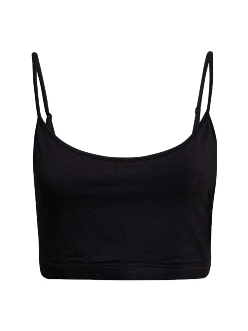 JBS of Denmark Bamboo Bra Top Narrow Straps Sort