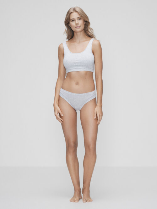 JBS of Denmark Bamboo Bra Top Wide Straps Grå