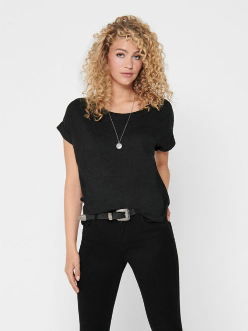 Only Moster T-shirt Dark Grey Melange