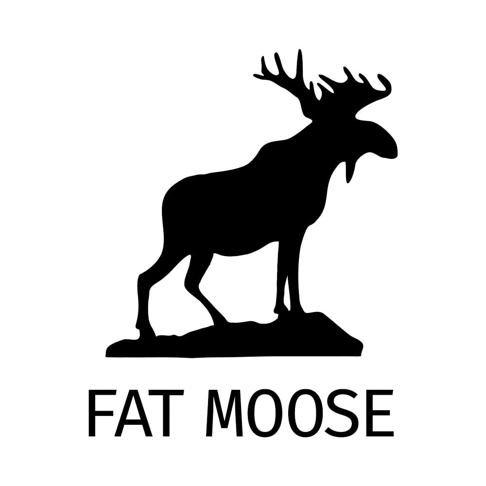 Fat Moose Logo Tøjkurven.dk