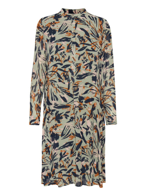 Fransa FRVAGETTE 3 Dress Lily Pad mix