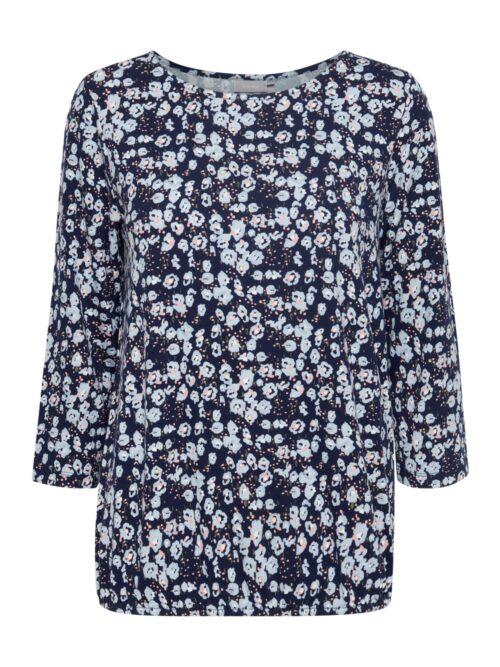 Fransa FRVEDOT 3 T-Shirt Navy Blazer Mix