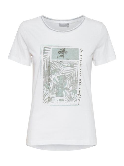Fransa FRVEKAM 2 T-shirt White