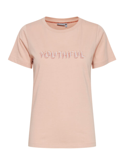Fransa FRVEYOUTH 1 T-shirt Misty Rose