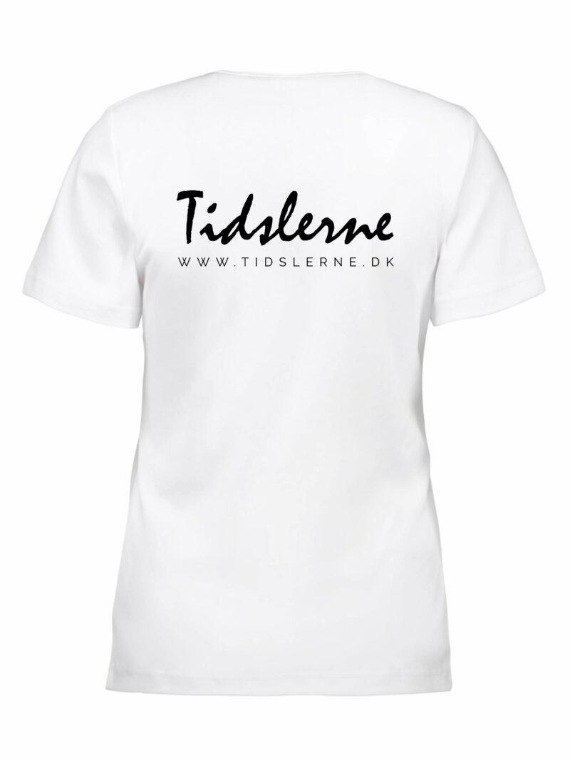 Tidslerne Dame T-shirt Hvid
