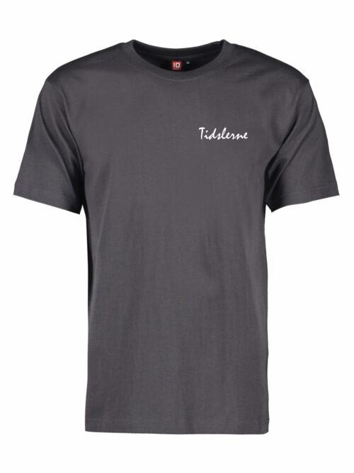 Tidslerne Herre T-shirt Dark Grey