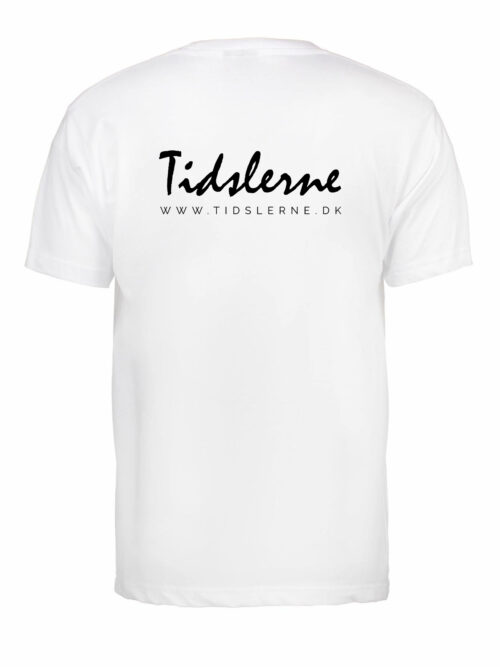 Tidslerne Herre T-shirt Hvid