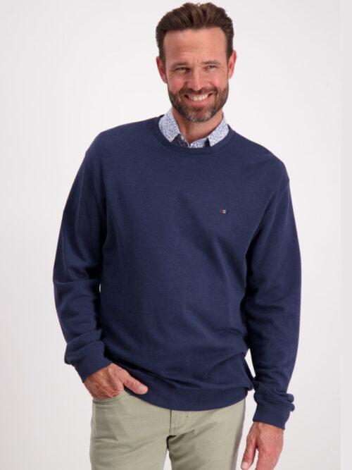 Bison Bamboo Sweatshirt Navy