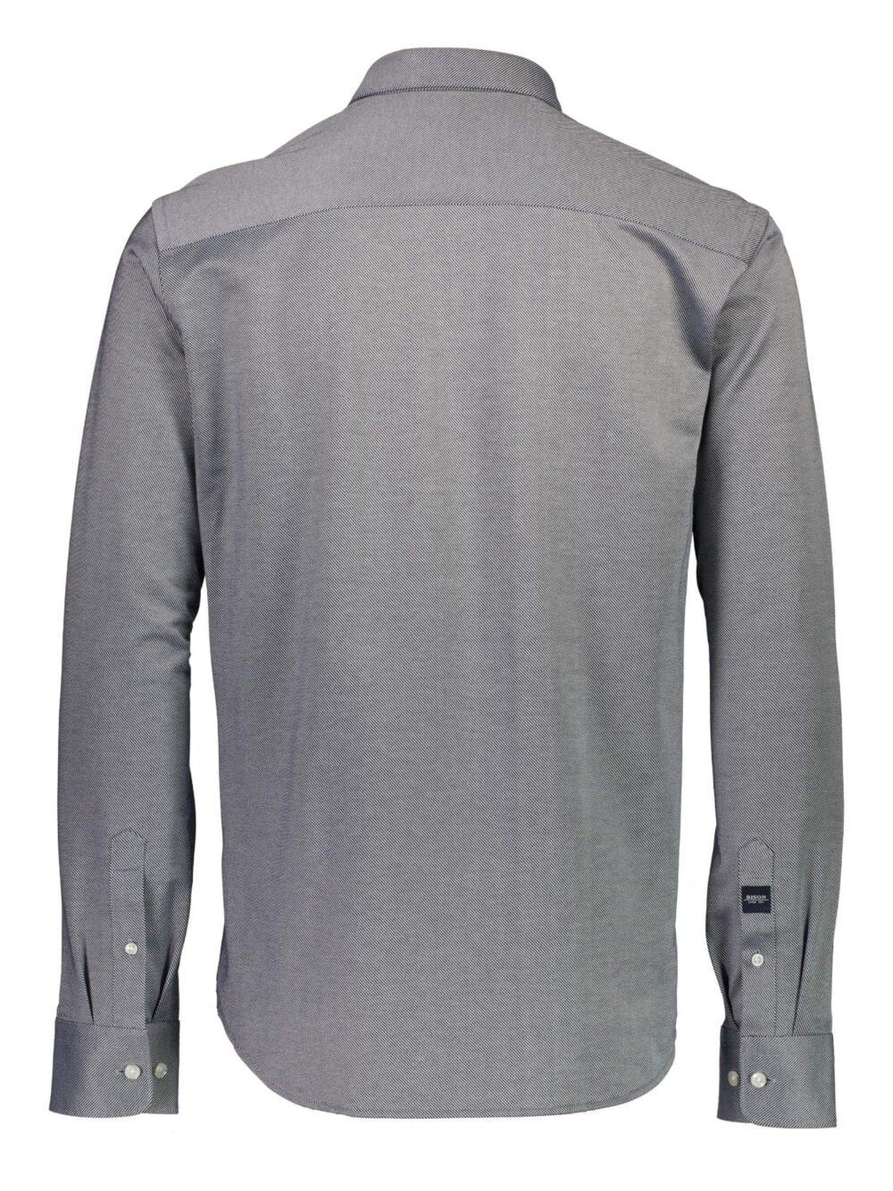 Bison Superflex Skjorte Dark Navy