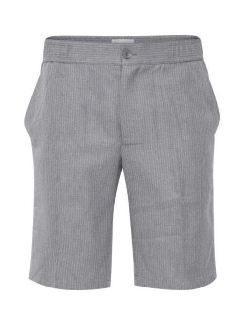 Casual Friday Pagh Pinstriped Shorts Light Grey