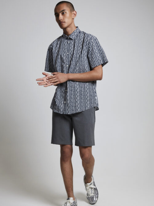 Casual Friday Philip Shorts Pewter Mix
