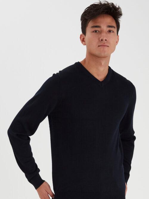 Casual Friday Pullover V-neck Navy