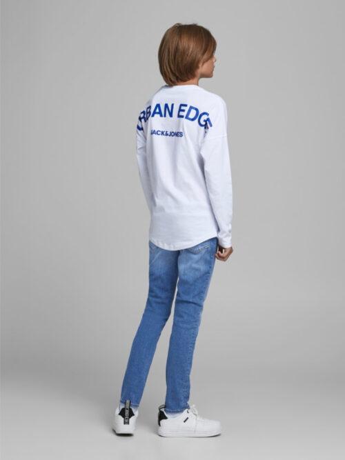 Jack & Jones Junior Liam Skinny Fit Jeans Blue Denim