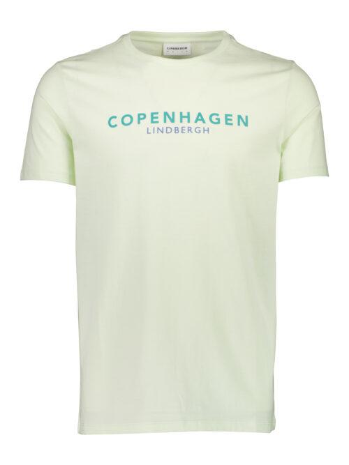 Lindbergh White Copenhagen T-shirt Neon Green