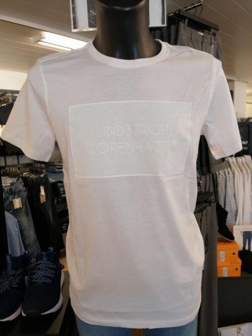 Lindbergh White Logo T-shirt White