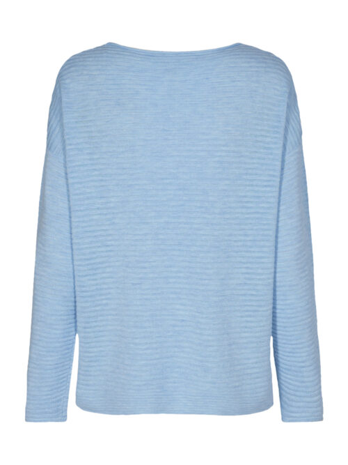 Soyaconcept Niaka 4 Pullover Lyseblå