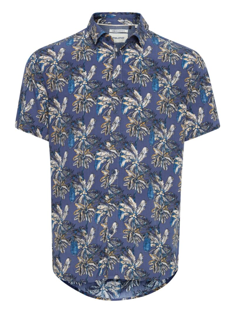 Blend Skjorte 20713107 Dark Denim