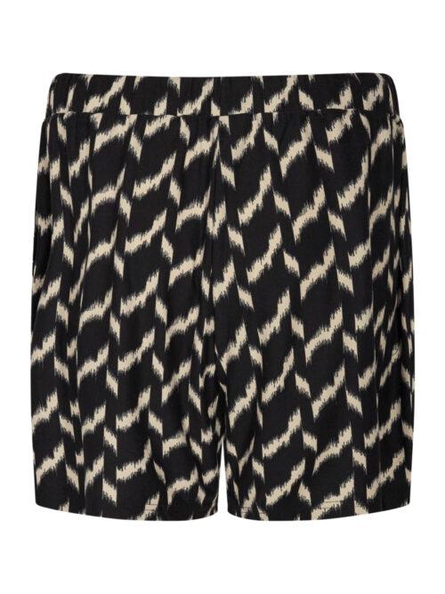 Soyaconcept SC-GUNBRIT AOP 7 Shorts Black