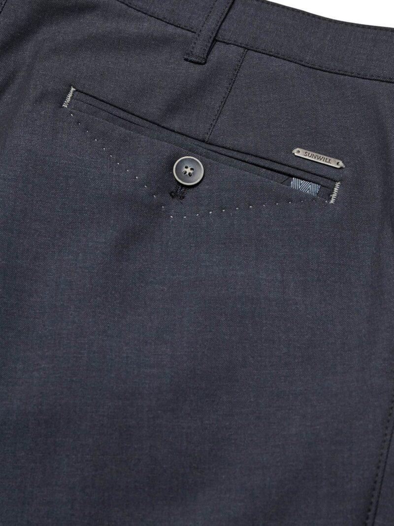 Sunwill Extreme Flexibility Chino Pants 12327-7731 Navy