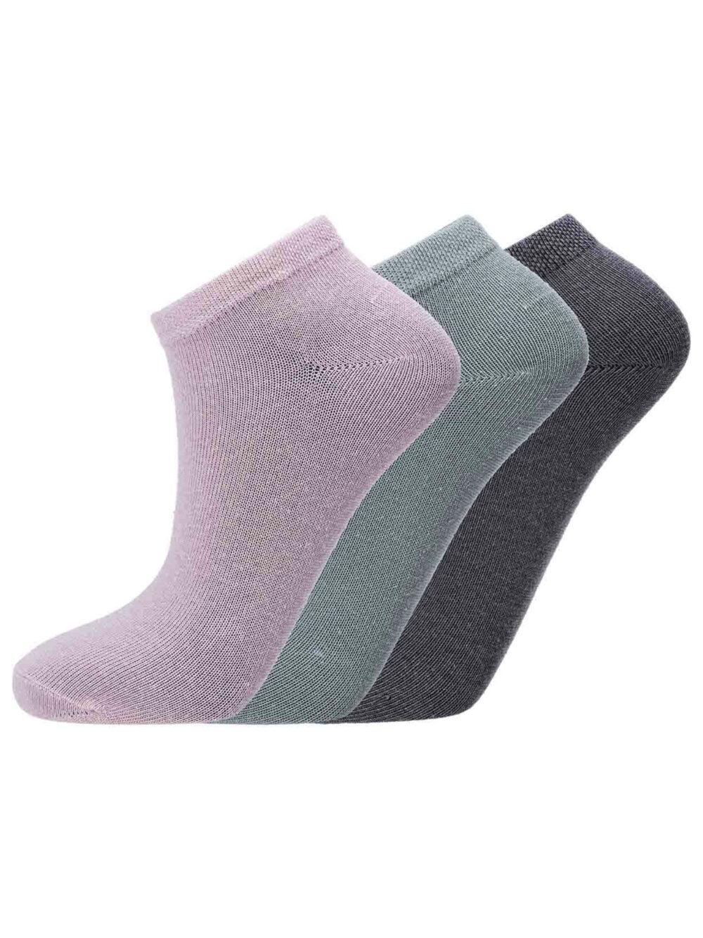Athlecia Bonie Low Cut Sock 3-pack Chic Gray