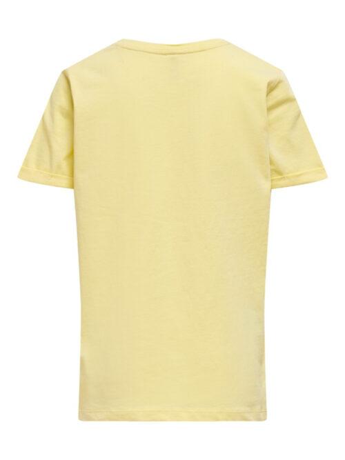 Kids Only Konnaomi T-shirt Mellow Yellow