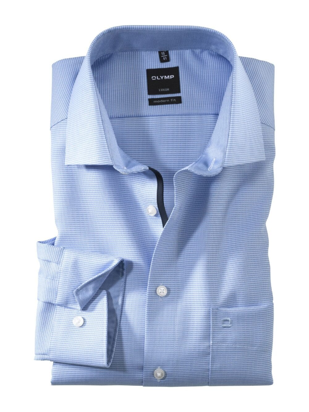 Olymp Luxor Skjorte 0424-64-11 Lyseblå